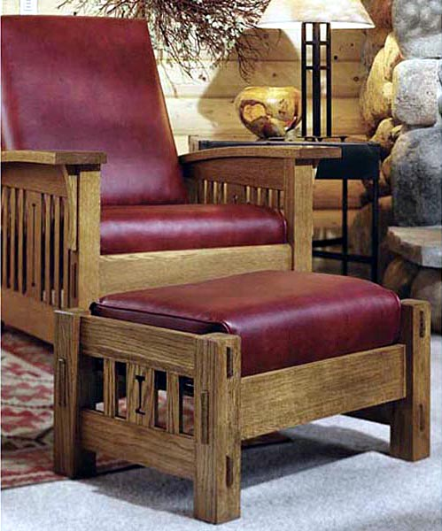 Arts and Crafts Morris Chair Woodworking Plan - Product Code DP-00093
