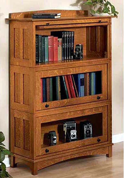 Barrister's Bookcase Woodworking Plan - Product Code DP-00181