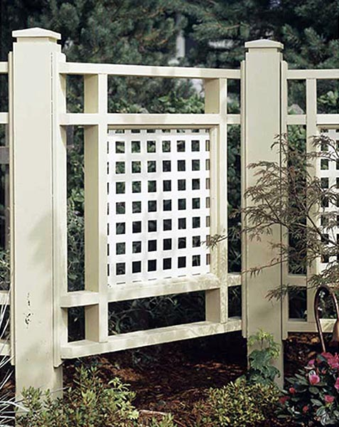 Good Neighbor Fence Woodworking Plan - Product Code DP-00323