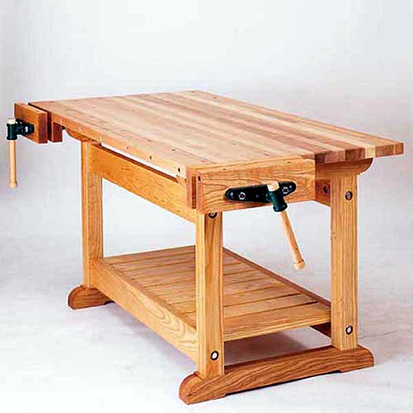 Traditional Workbench Woodworking Plan - Product Code DP-00482