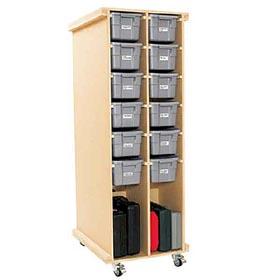 Rolling Workshop Storage Woodworking Plan