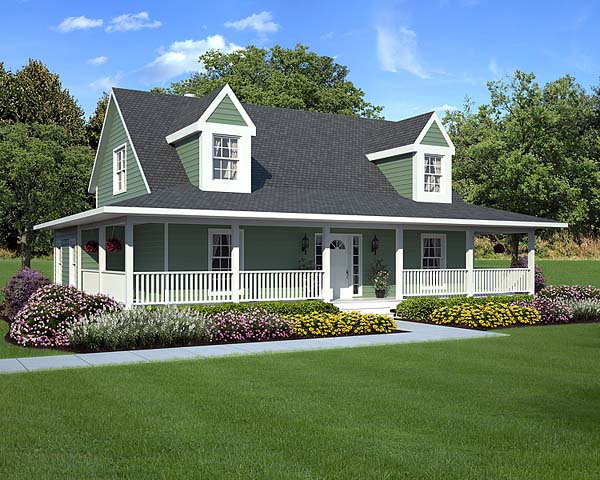 Country, Farmhouse, Southern, Traditional House Plan 10785 with 3 Beds, 3 Baths Front Elevation