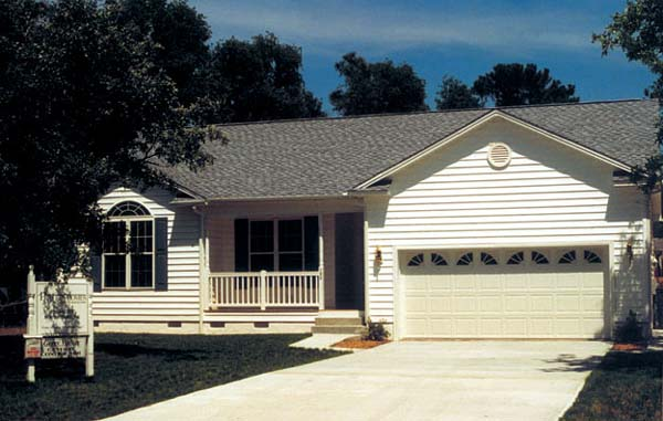 Cottage, Country, Ranch, Southern, Traditional House Plan 24700 with 3 Beds, 2 Baths, 2 Car Garage Picture 1