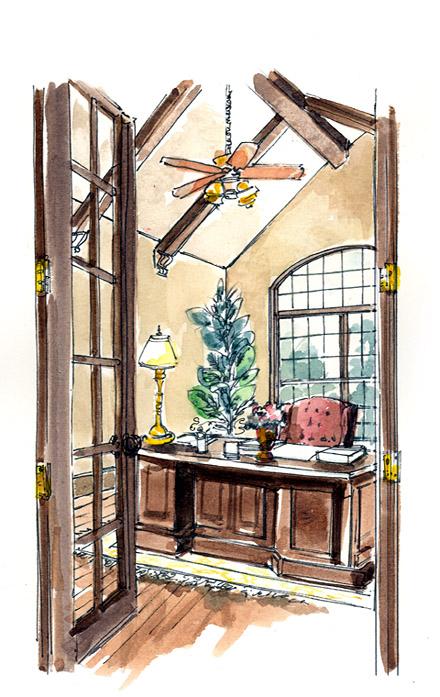 Craftsman, European, Farmhouse, Ranch House Plan 30507 with 3 Beds, 4 Baths, 3 Car Garage Picture 5