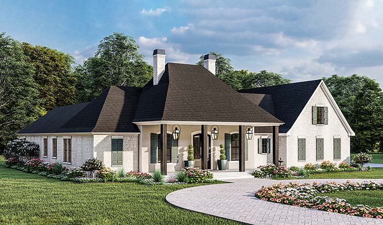 Country, Farmhouse, French Country, Southern, Traditional House Plan 40051 with 4 Beds, 3 Baths, 2 Car Garage Picture 5