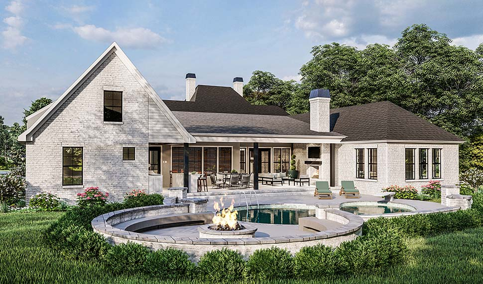Country, Farmhouse, French Country, Southern, Traditional House Plan 40051 with 4 Beds, 3 Baths, 2 Car Garage Picture 6