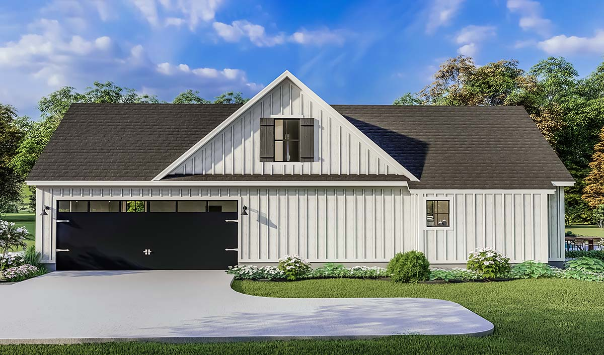 Country, Farmhouse, Ranch, Southern House Plan 40053 with 4 Beds, 2 Baths, 2 Car Garage Picture 1