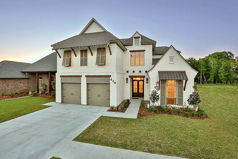 European, French Country, Southern House Plan 40314 with 4 Beds, 4 Baths, 2 Car Garage Elevation