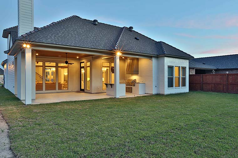 European, French Country, Southern House Plan 40314 with 4 Beds, 4 Baths, 2 Car Garage Picture 7