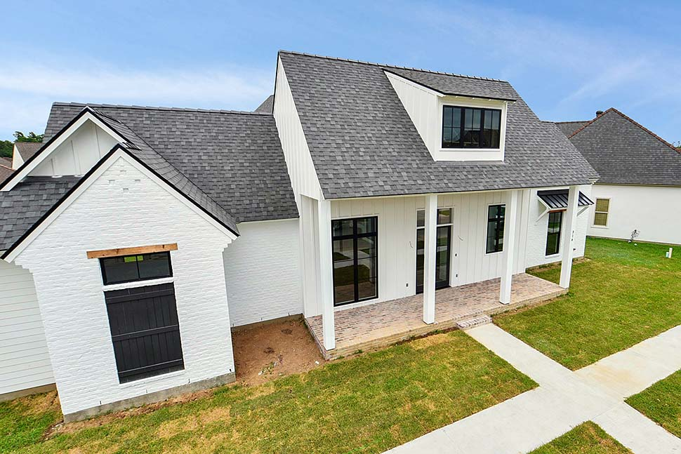 Country, Farmhouse, Southern House Plan 40341 with 4 Beds, 4 Baths, 2 Car Garage Picture 3