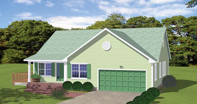 House Plan 40607