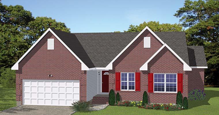 House Plan 40629