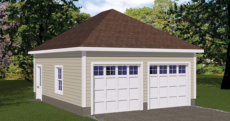 Garage Plan 40655