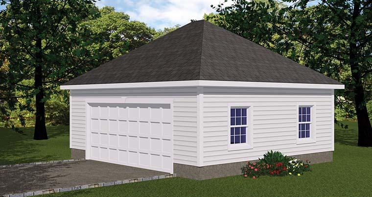 Garage Plan 40656
