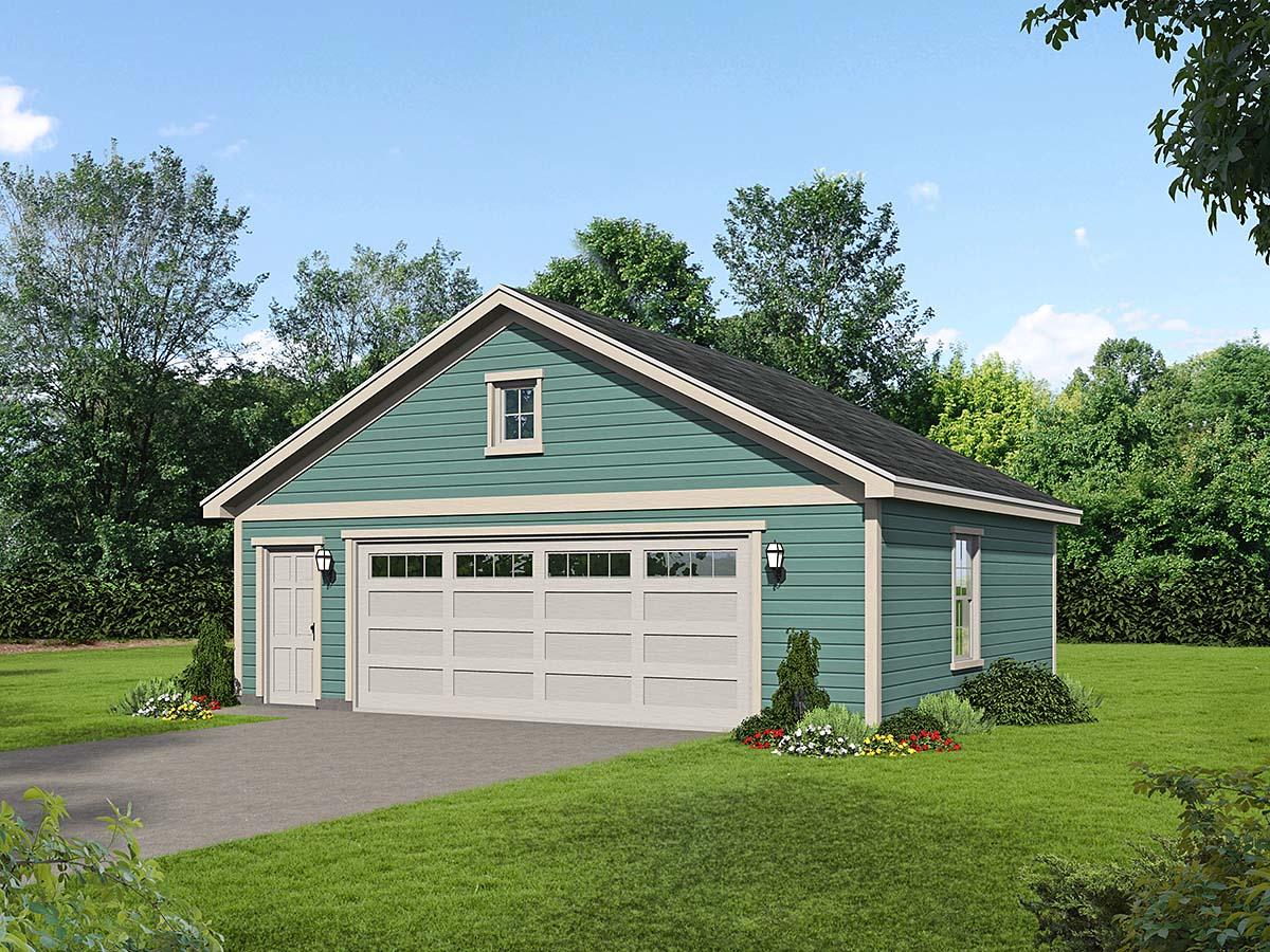 Garage Plan 40832