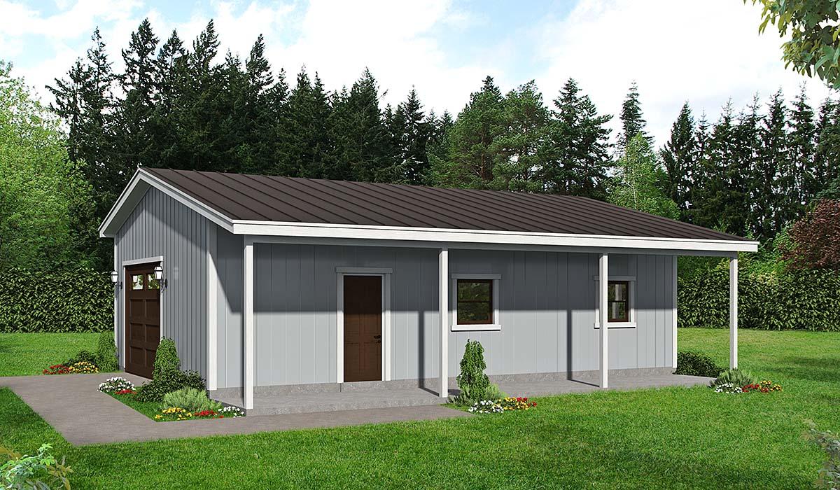Garage Plan 40851