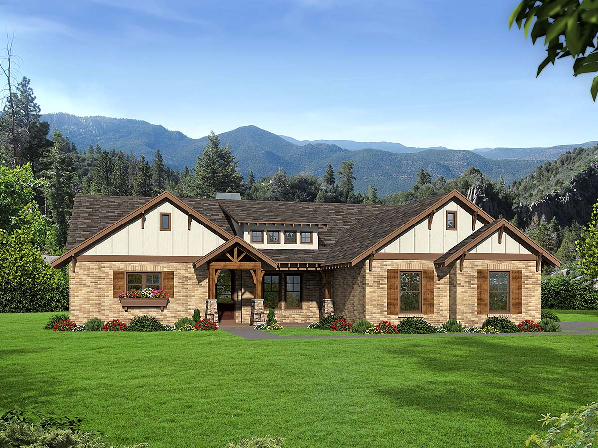 House Plan 40854