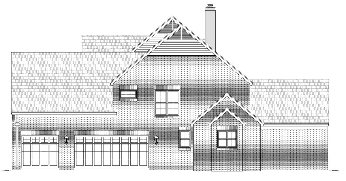 European, French Country, Traditional House Plan 40856 with 5 Beds, 5 Baths, 3 Car Garage Picture 1