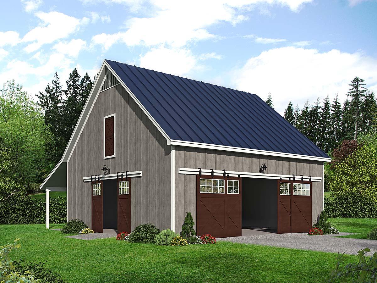 Garage Plan 40888