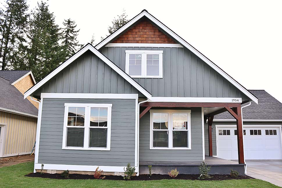 Country, Craftsman House Plan 40915 with 3 Beds, 3 Baths, 2 Car Garage Picture 2