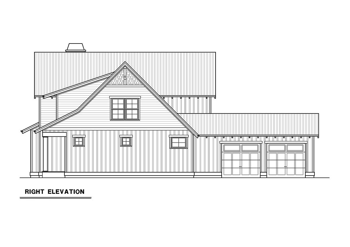 Craftsman House Plan 40916 with 3 Beds, 3 Baths, 2 Car Garage Picture 1