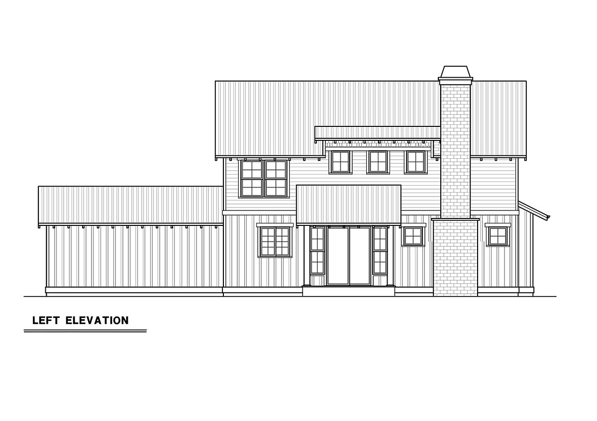 Craftsman House Plan 40916 with 3 Beds, 3 Baths, 2 Car Garage Picture 2