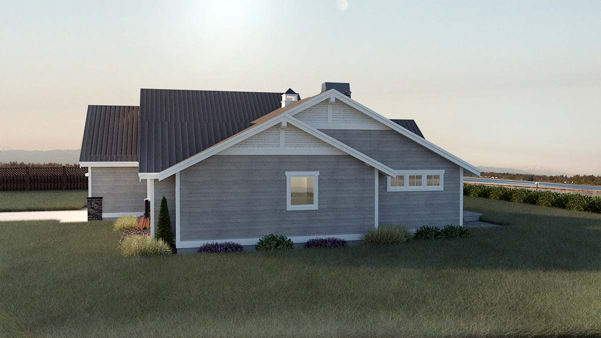 Country, Craftsman, Ranch, Traditional House Plan 40918 with 3 Beds, 2 Baths, 2 Car Garage Picture 1