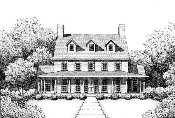 House Plan 41020