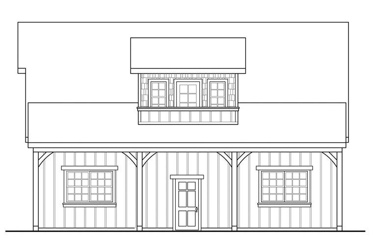 Craftsman 3 Car Garage Plan 41150 Picture 2