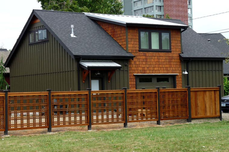 Craftsman, Farmhouse 2 Car Garage Apartment Plan 41156 with 2 Beds, 1 Baths Picture 3