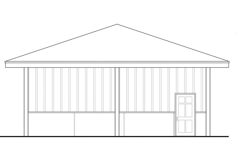 Traditional 4 Car Garage Plan 41161 Picture 1