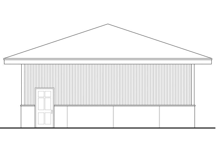 Traditional 4 Car Garage Plan 41161 Picture 2