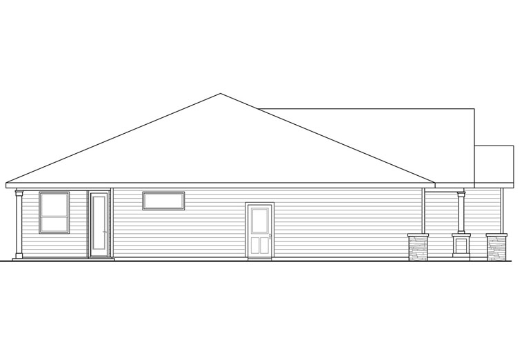 Bungalow, Cottage, Country, Ranch, Traditional House Plan 41214 with 3 Beds, 3 Baths, 2 Car Garage Picture 1