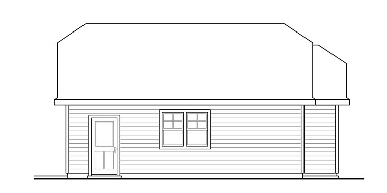 Cottage, Country 2 Car Garage Plan 41276 Picture 2