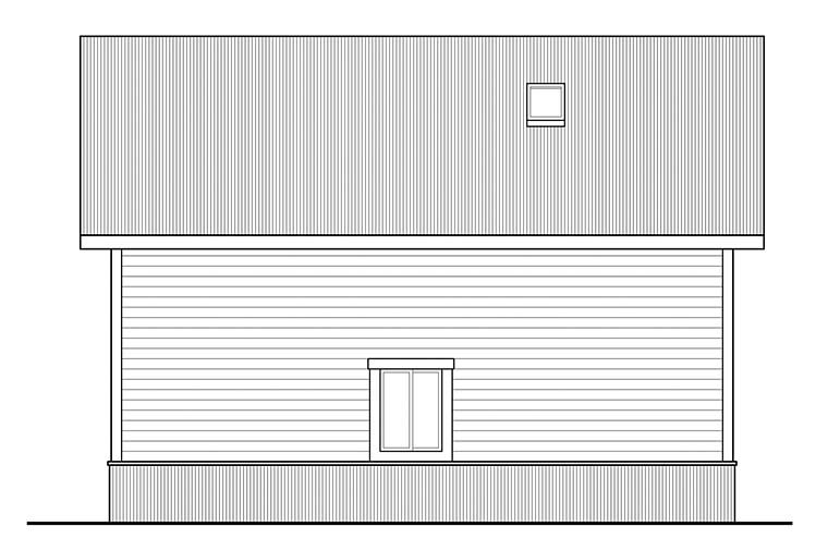 Country 2 Car Garage Apartment Plan 41294 Picture 2