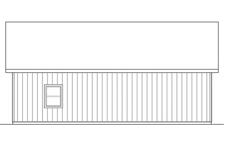 Traditional 2 Car Garage Plan 41296 Picture 2