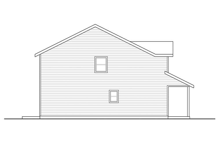 Country, Traditional House Plan 41304 with 3 Beds, 3 Baths, 2 Car Garage Picture 2