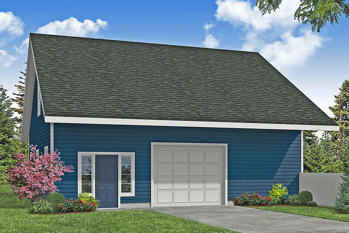 Country, Traditional 3 Car Garage Plan 41373 Front Elevation
