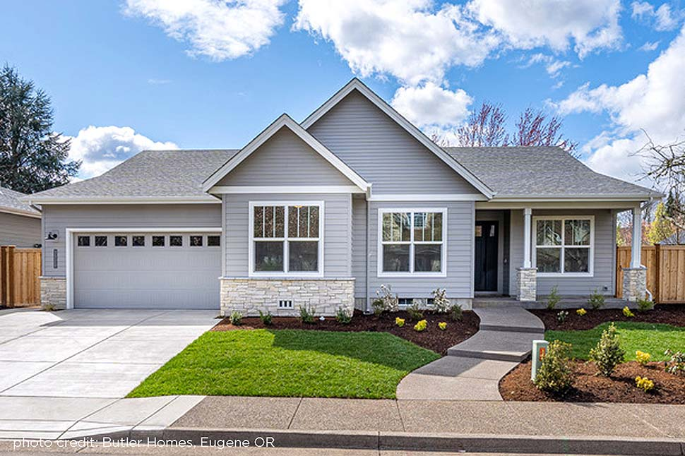 Country, Ranch, Traditional House Plan 41375 with 3 Beds, 2 Baths, 2 Car Garage Picture 3