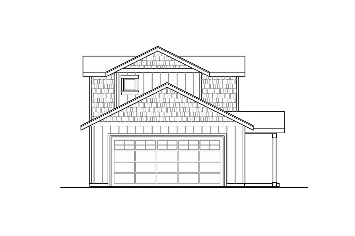 Country, Craftsman, Farmhouse House Plan 41381 with 3 Beds, 3 Baths, 2 Car Garage Picture 2