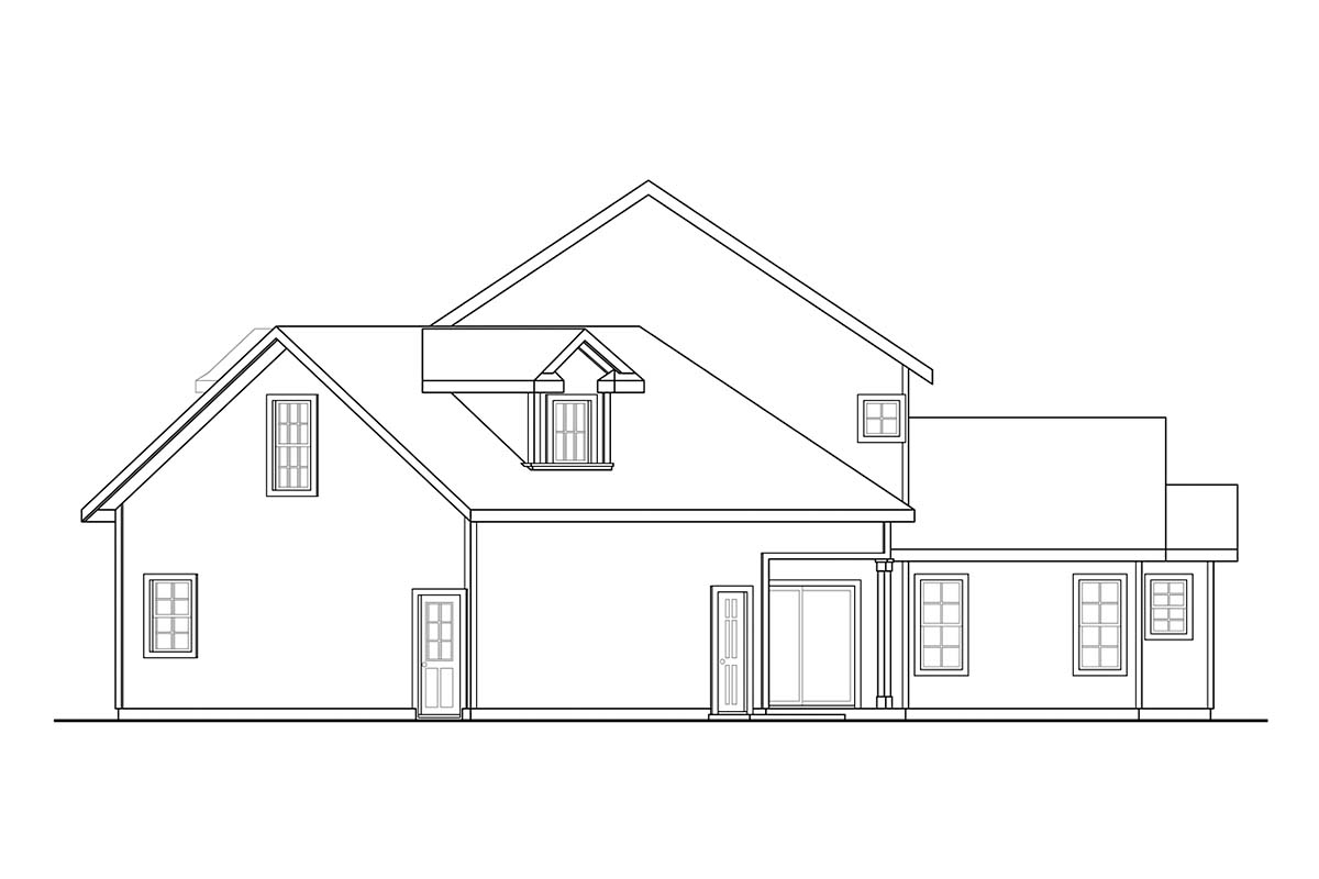 Country, Traditional House Plan 41393 with 4 Beds, 4 Baths, 2 Car Garage Picture 1