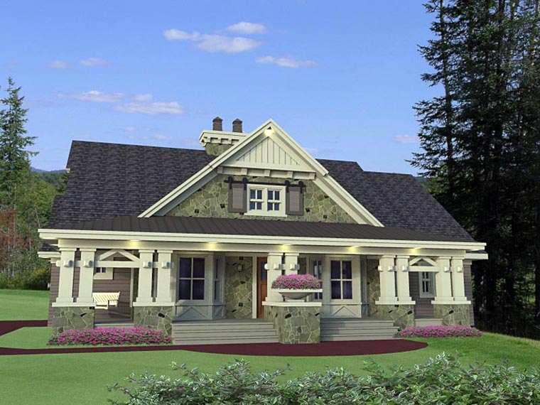 Craftsman House Plan 42653 with 3 Beds, 3 Baths, 2 Car Garage Picture 10