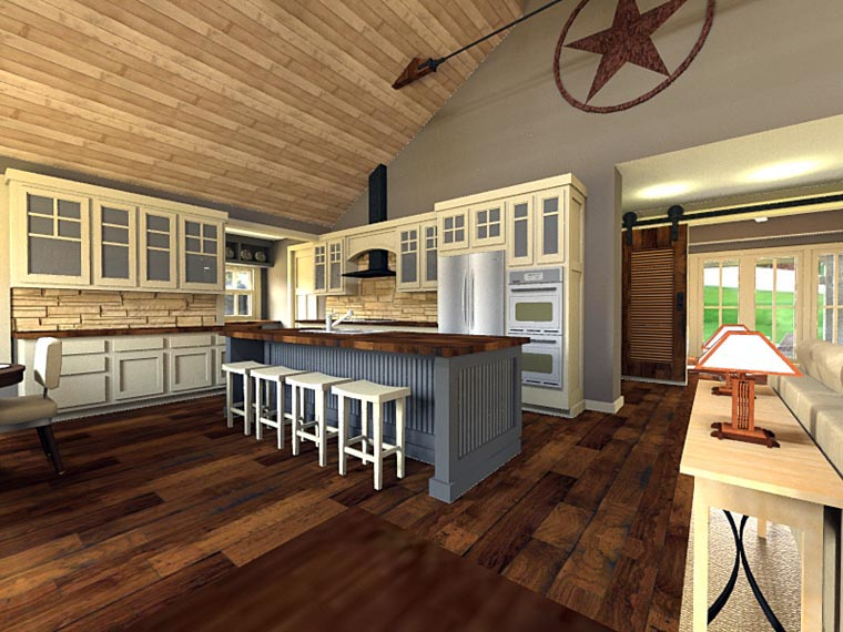 Craftsman House Plan 42653 with 3 Beds, 3 Baths, 2 Car Garage Picture 5