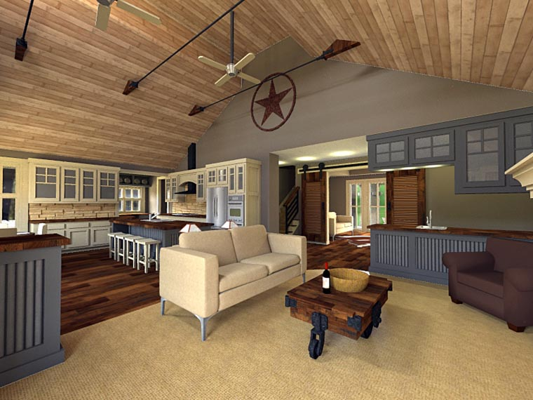 Craftsman House Plan 42653 with 3 Beds, 3 Baths, 2 Car Garage Picture 6