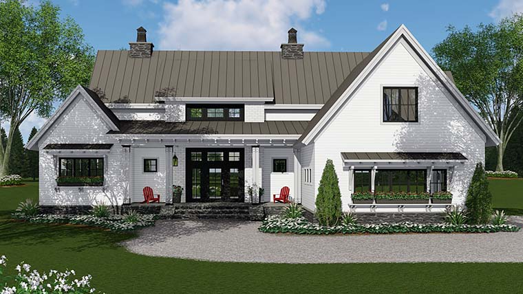 Country, Farmhouse, Southern, Traditional House Plan 42688 with 3 Beds, 3 Baths, 2 Car Garage Picture 1