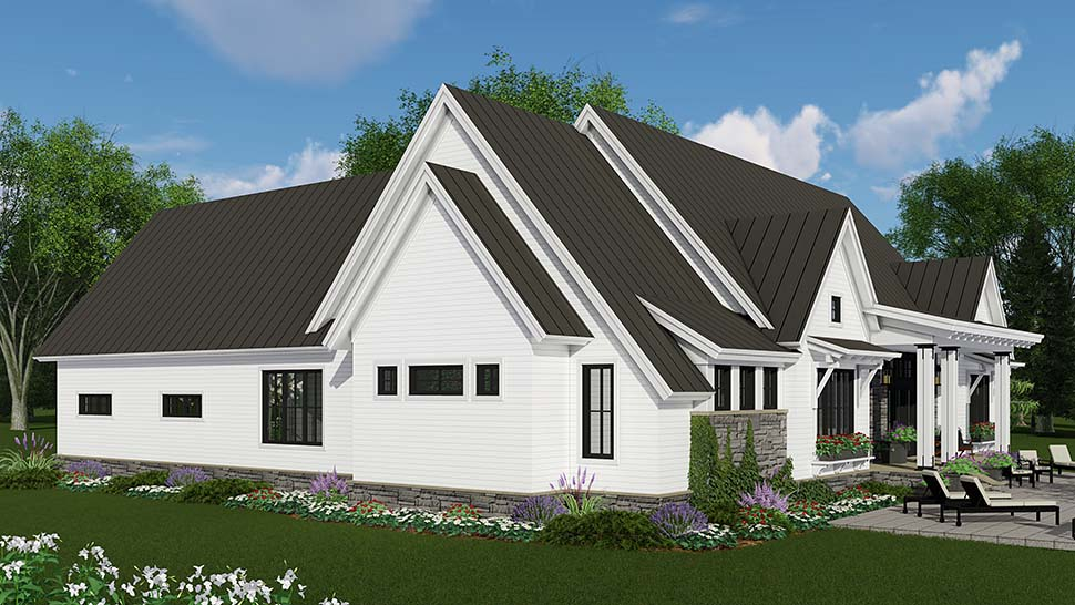 Bungalow, Cottage, Craftsman, Ranch House Plan 42689 with 3 Beds, 3 Baths, 2 Car Garage Picture 1