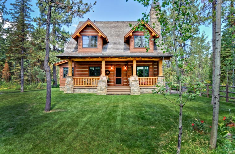 Cabin, Craftsman, Log House Plan 43212 with 2 Beds, 2 Baths Picture 10