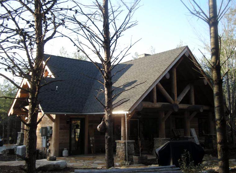 Cabin, Craftsman, Log House Plan 43214 with 3 Beds, 2 Baths Picture 6