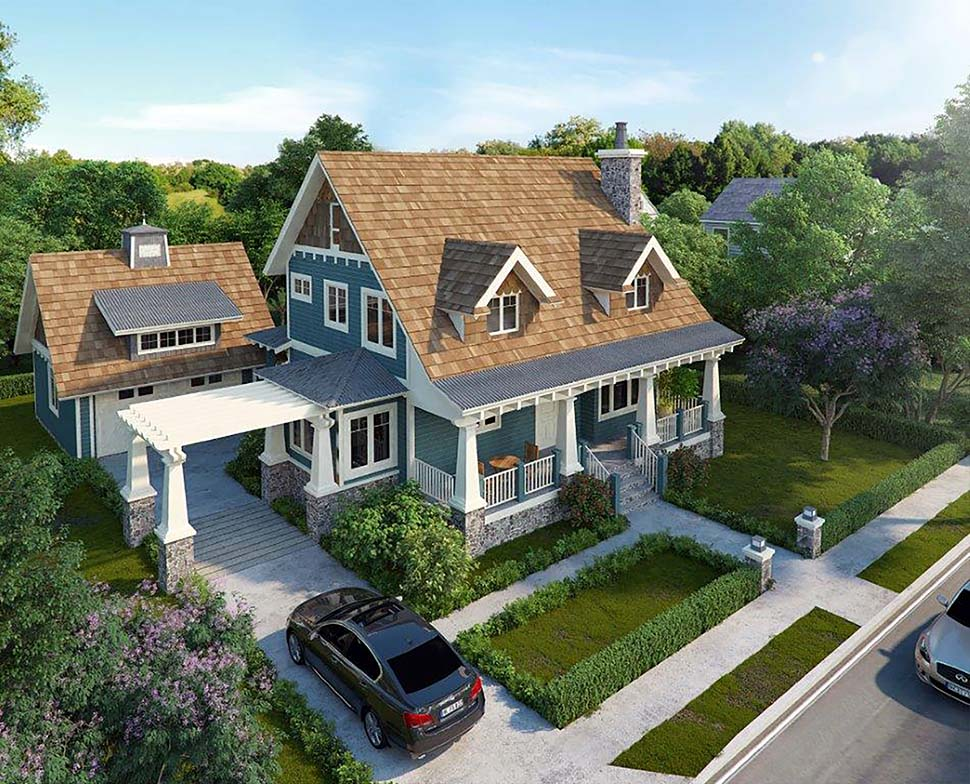 House Plan 43246 Craftsman Style With 1825 Sq Ft 3 Bed 3 Bath,Modern Cool House Plans Minecraft