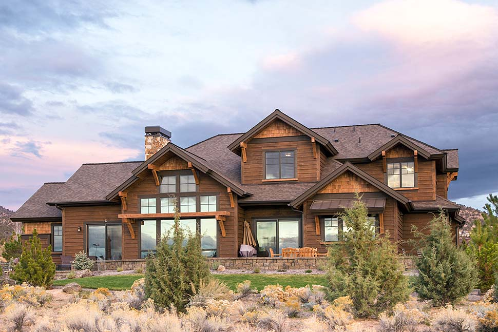 Country, Craftsman House Plan 43301 with 3 Beds, 5 Baths, 3 Car Garage Picture 2